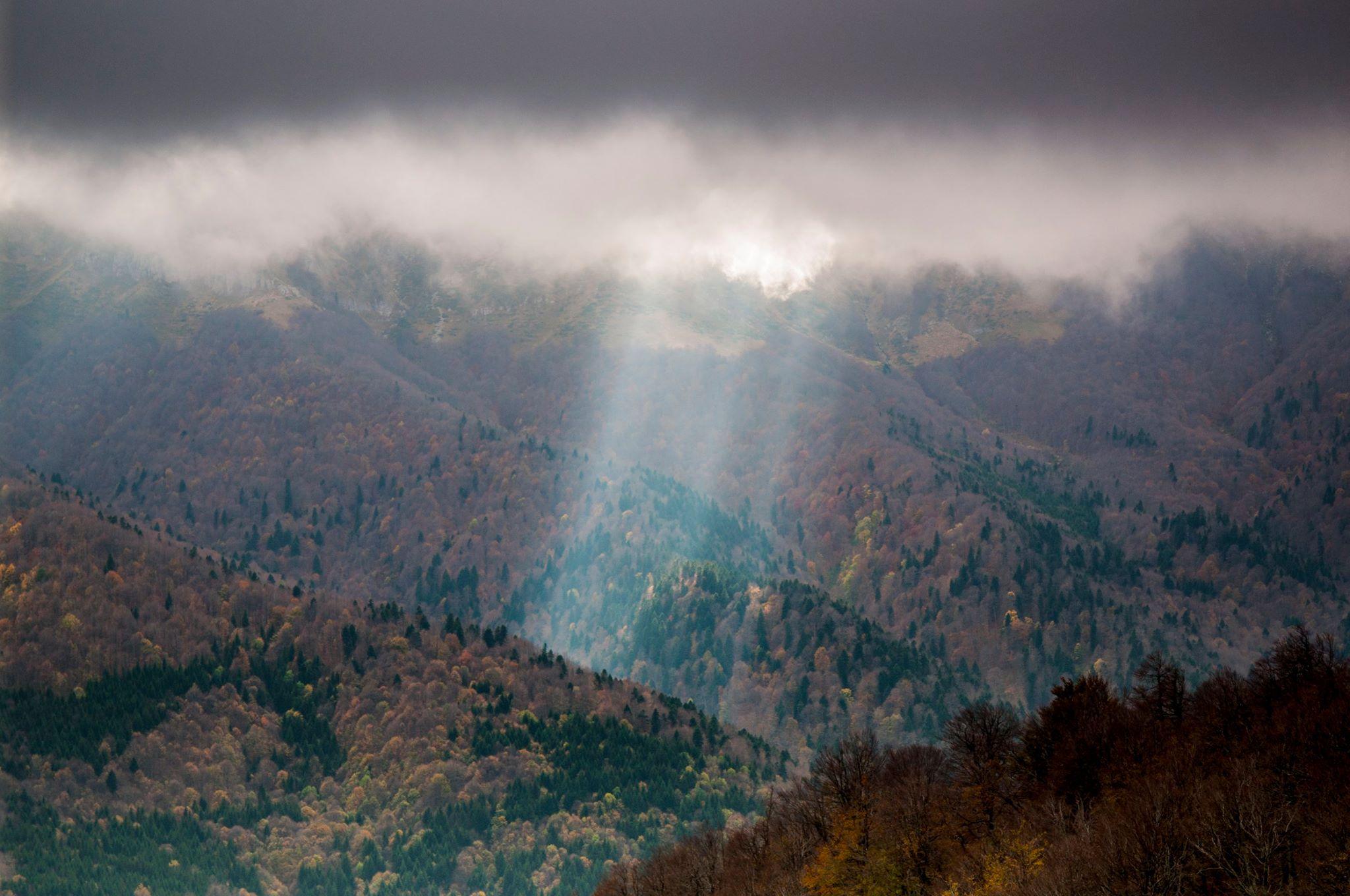 Гледка от х. Мазалат, Стара Планина