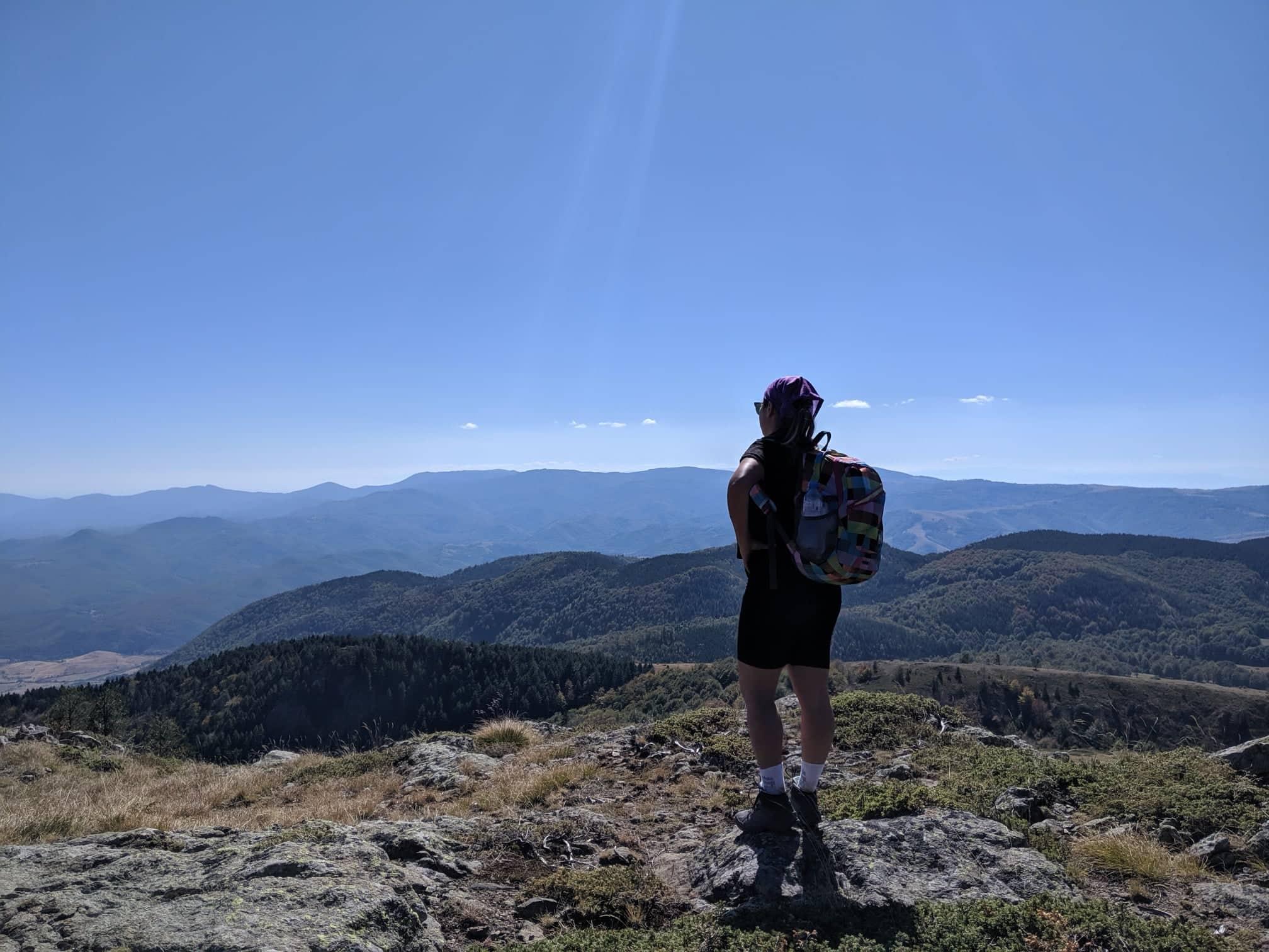 с поглед към Планината