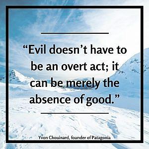 дефиниция на злото от Ивон Шуинар