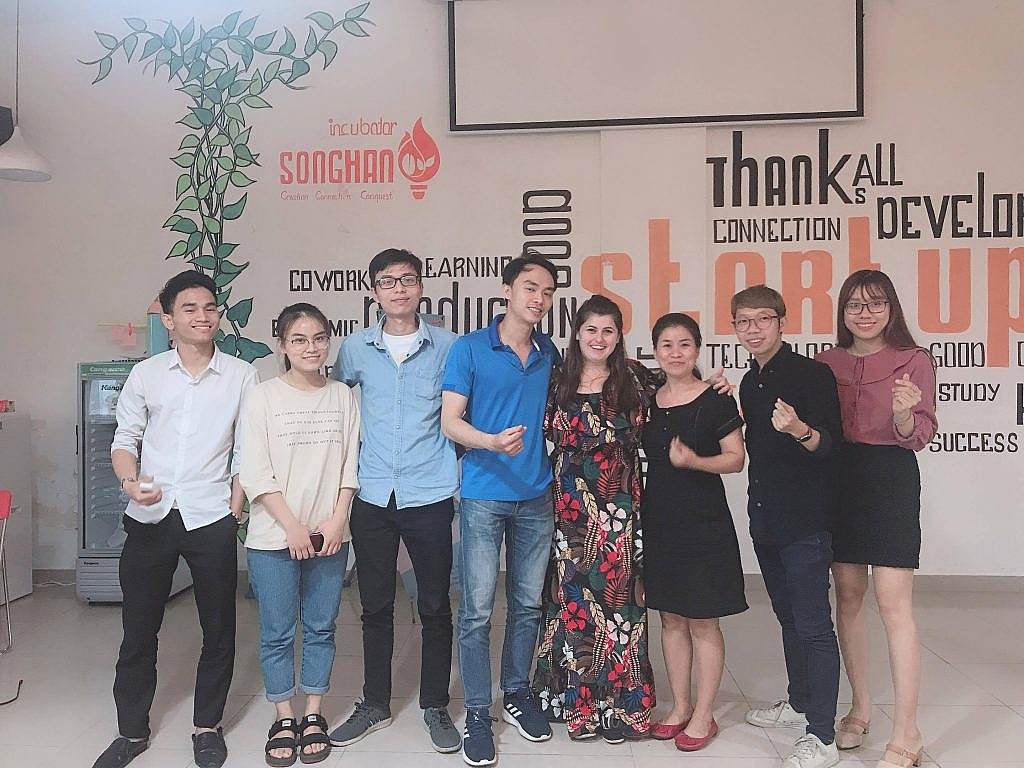 with Vietnamese entrepreneurs
