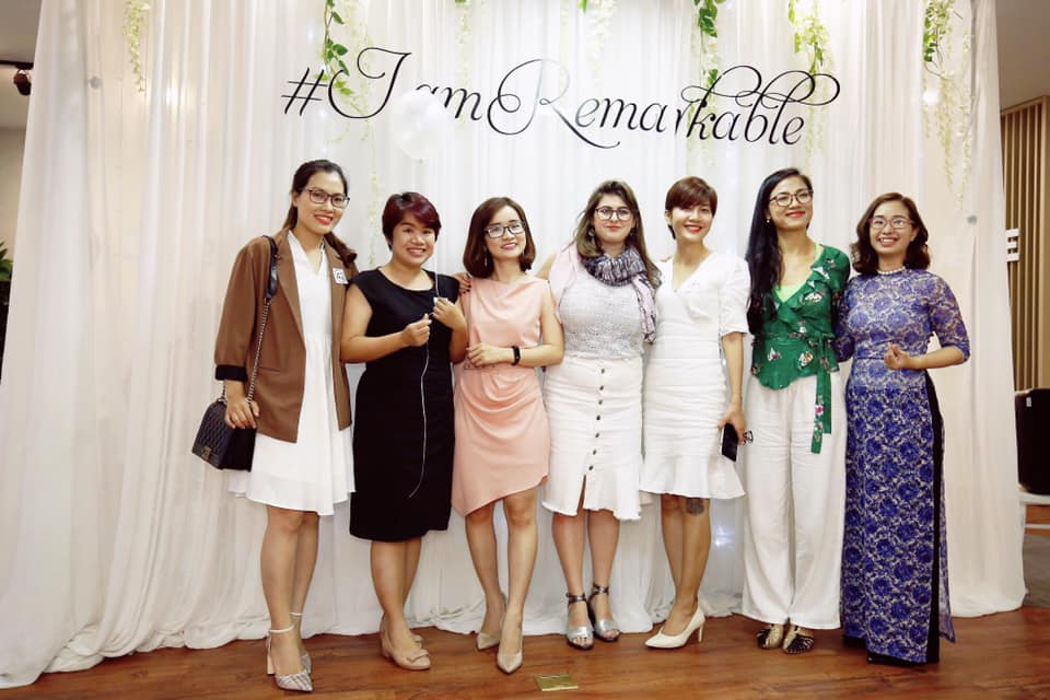 A celebration of the International women's day in Vietnam