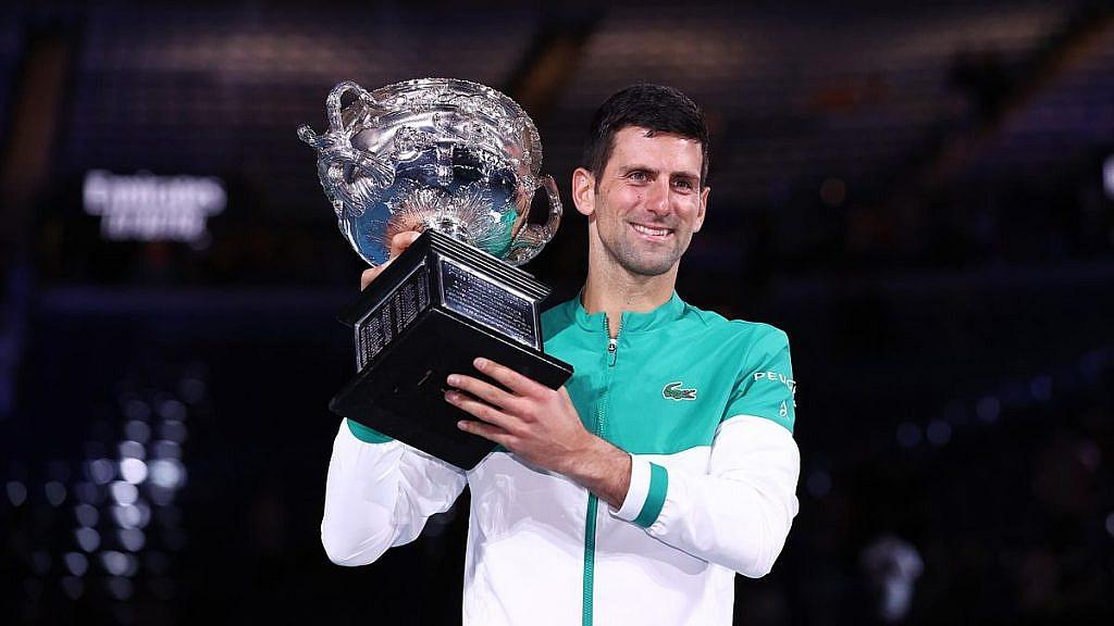 Novak wins AO in 2021
